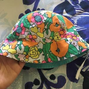 Reversible Bucket Hat with chin strap
